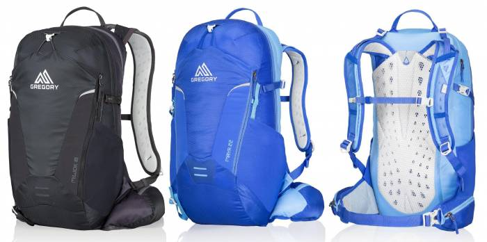 gregory maya and miwok backpacks