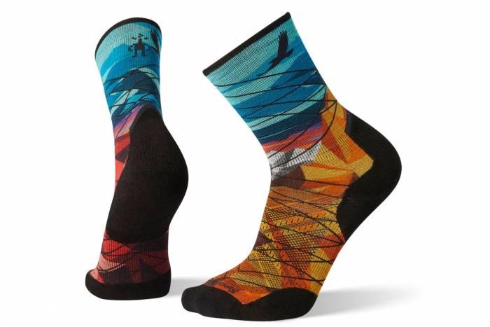 Smartwool PhD Pro Endurance Print Crew Socks