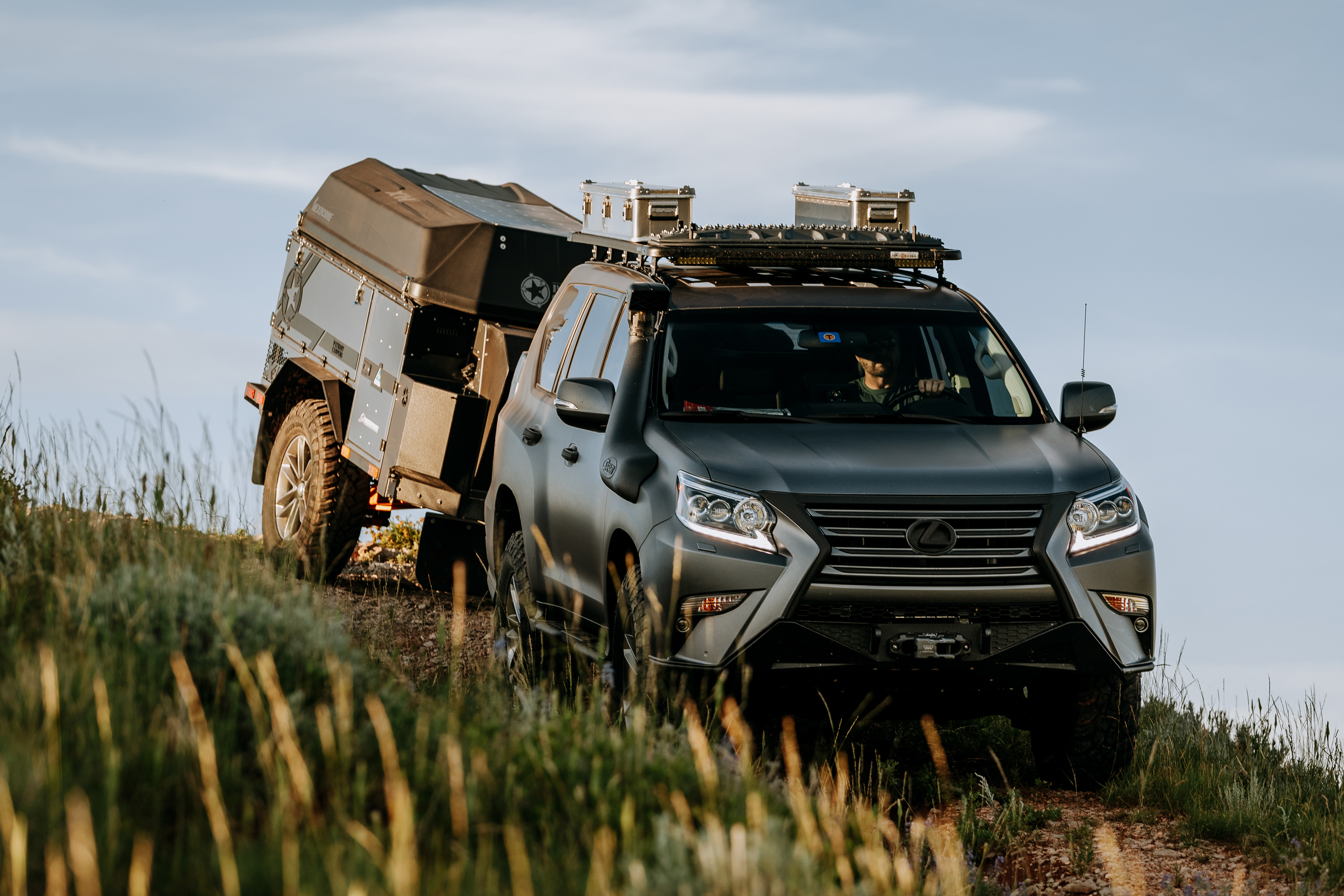 Lexus Flexes Off-Road Muscle With GXOR Concept Debut at FJ