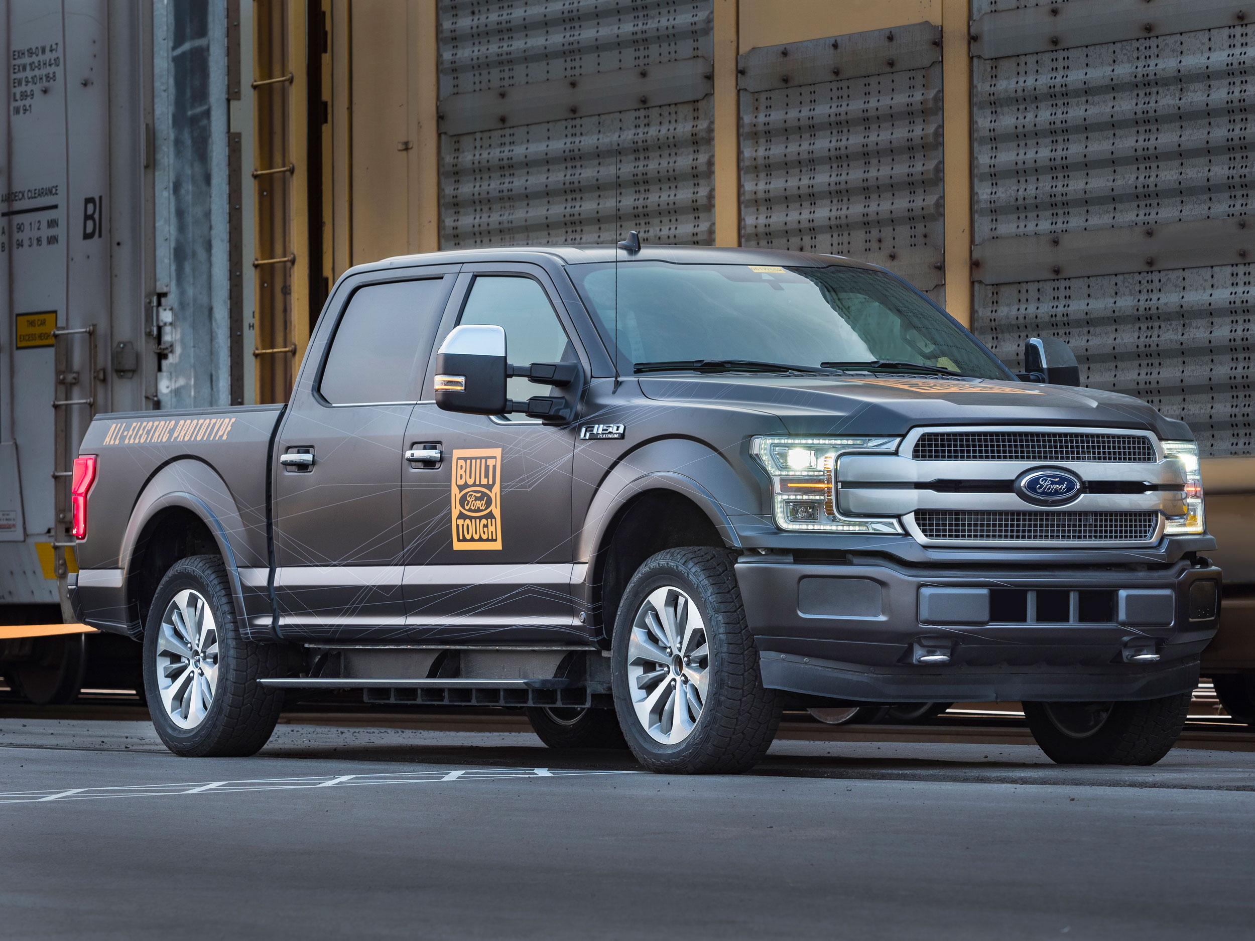 Electric Ford-F150