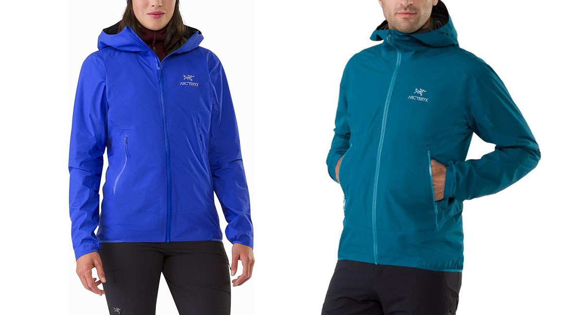 Arc'teryx Zeta FL rain Jacket