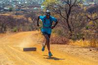 Meet the South African Trail Runner Inspiring a Country: Thabang Madiba