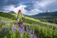 Shorts de bicicleta de montaña para mujer