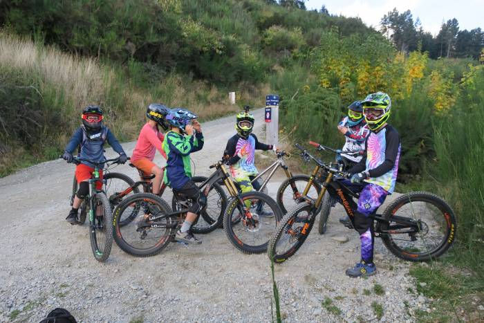 Testing Kids Mountain Bikes in New Zealand