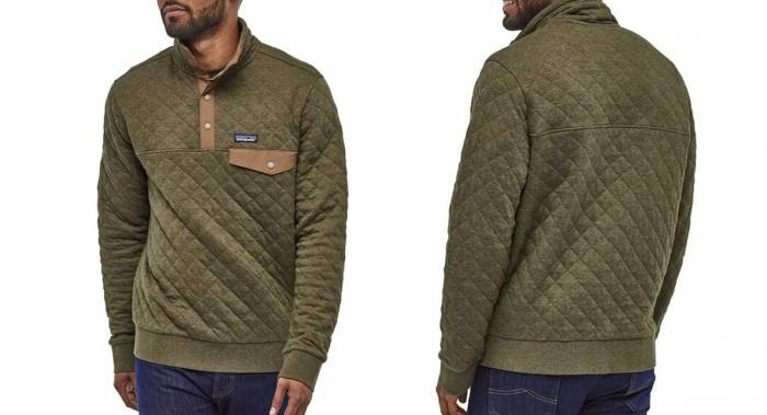Patagonia Organic Quilt Snap-T Fleece