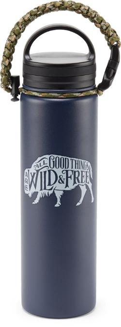 SOLD OUT - United By Blue 22oz. Stainless Steel Water Bottle - 35% Off