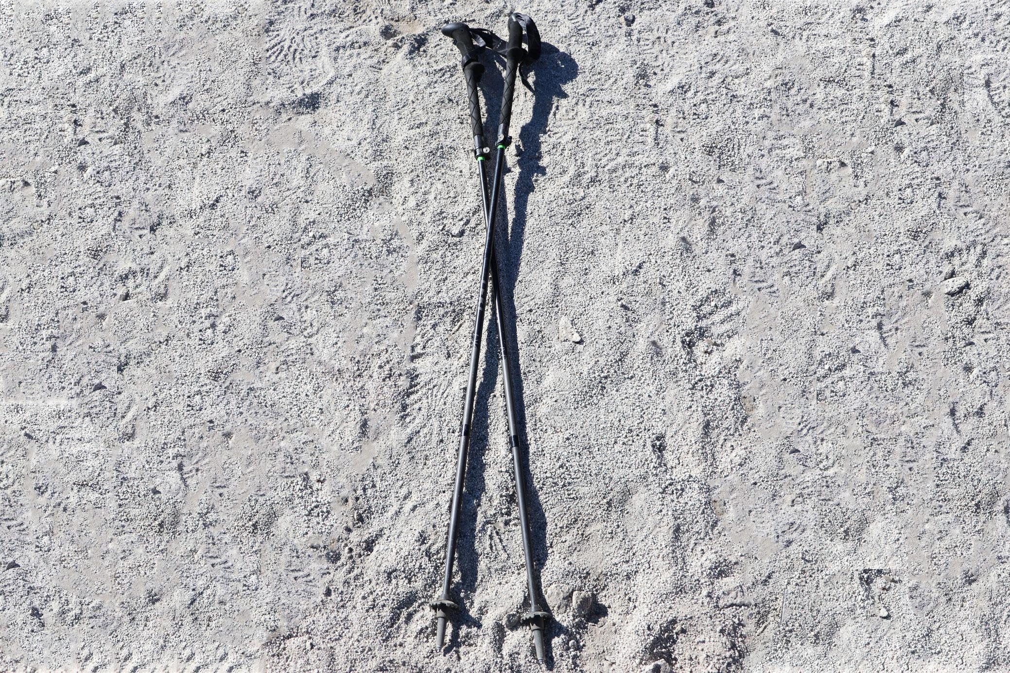 LEKI Micro Vario Carbon Pro Black Series trekking poles