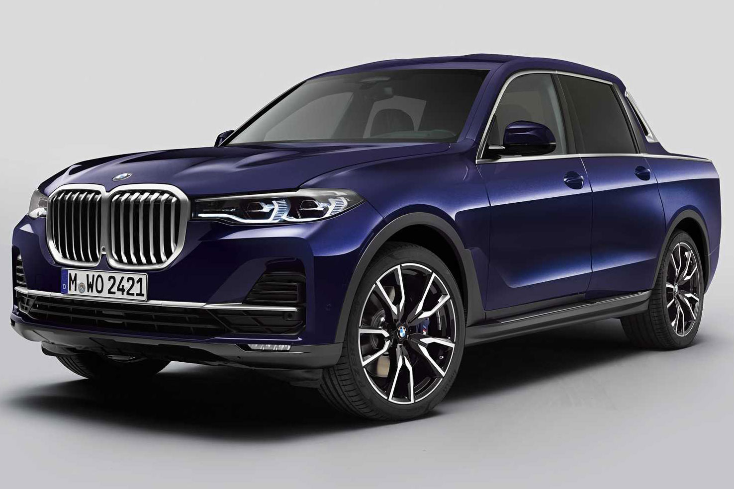 The Bmw X7 Pickup Truck Is Real And It Looks Like A Yacht Gearjunkie