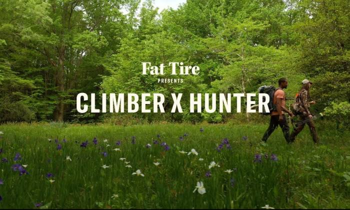 A Climber and a Hunter Find Common Ground in Moving Video