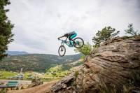 The Sluice Downhill Mountain Bike Trail near Denver