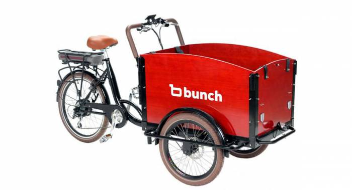 Bunch Family Cargo Bike