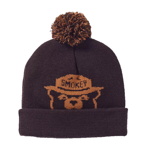 Smokey Bear Knit Beanie