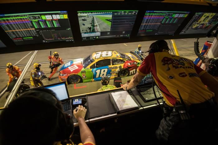NASCAR glamping