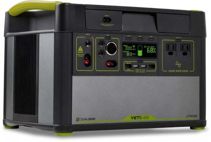 Goal Zero Yeti 1400 Lithium Power Station with Wi-Fi