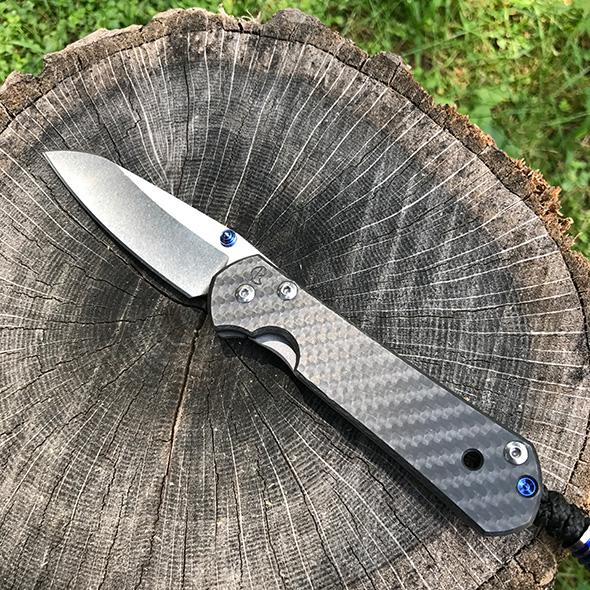 Chris Reeve Sebenza Carbon Fiber Insingo knife