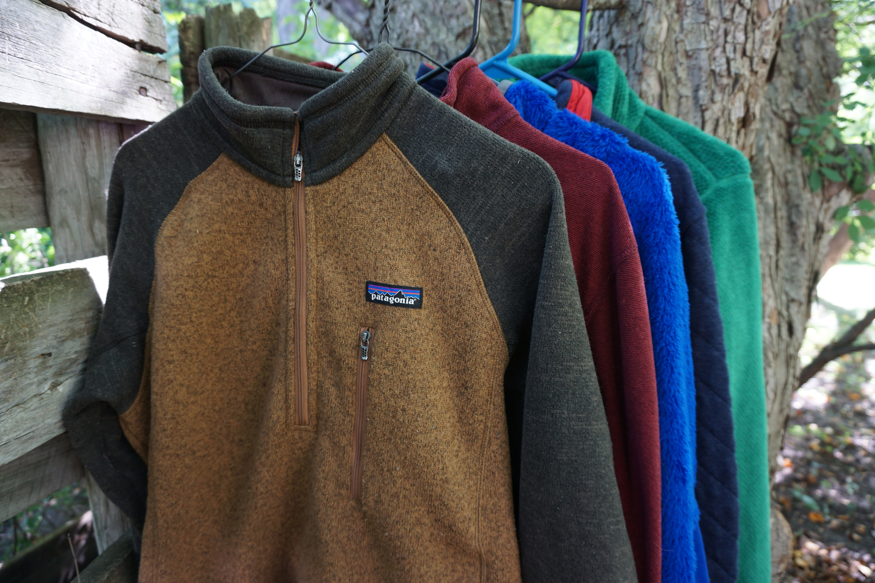 Patagonia Fleece Better Sweater Synchilla