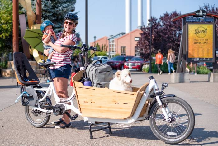 Yuba Supermarch electric cargo bike