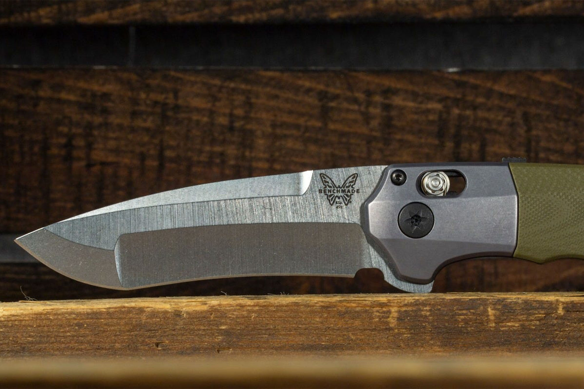 Benchmade Vector: Composite-Ground Blade In Superior Steel   GearJunkie