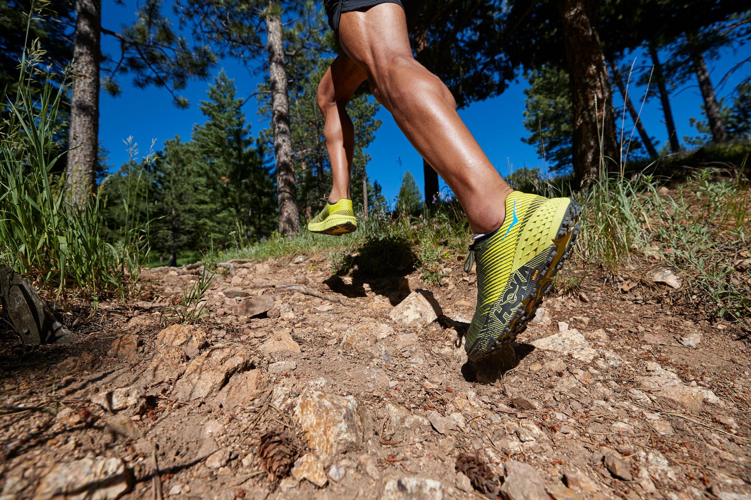 HOKA ONE ONE EVO Speedgoat trail running shoe