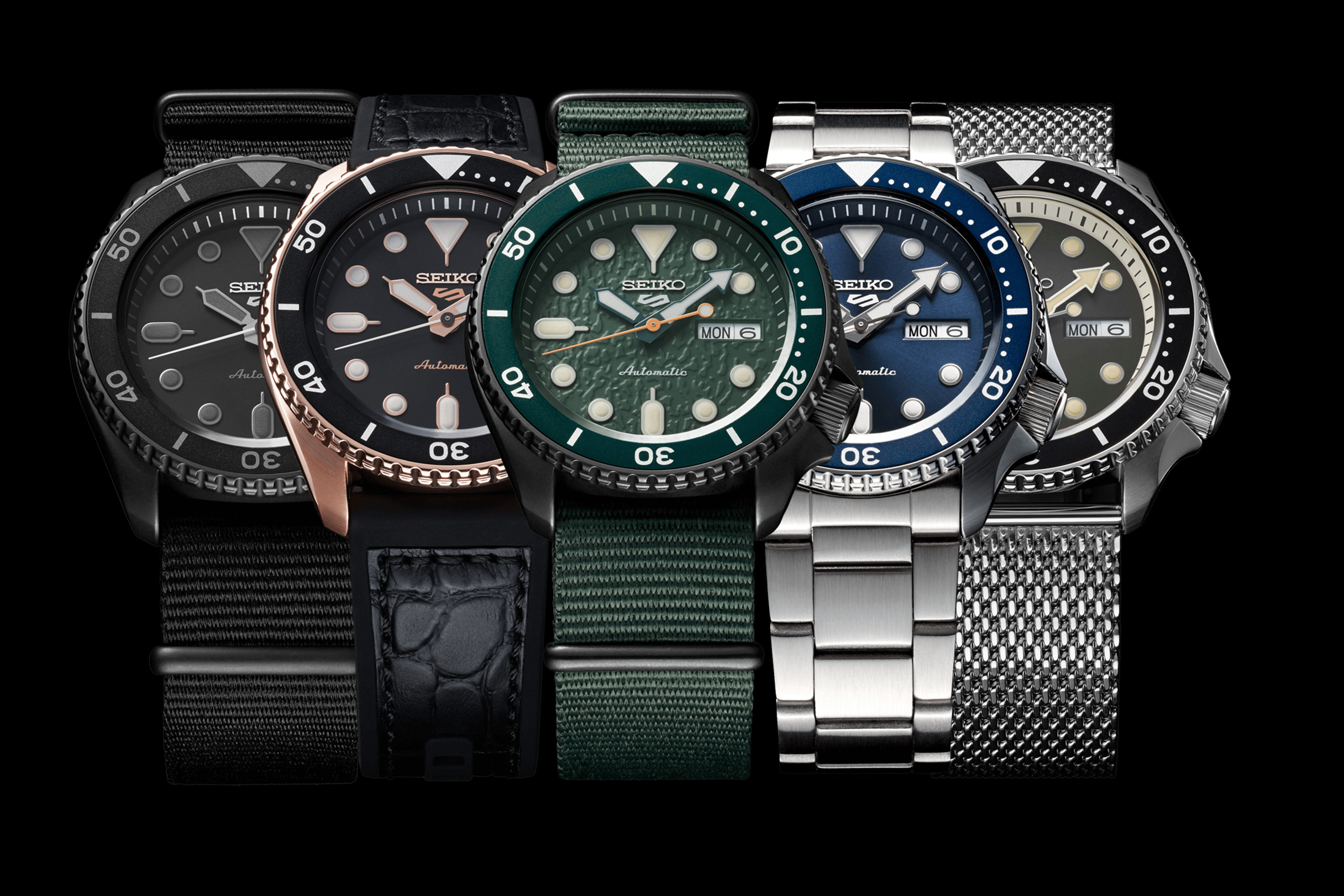 quality design 86dfd 9f9ed Higher Caliber: Seiko Watches Relaunches the Seiko 5 Sports ...