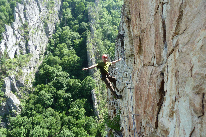 Nelson Rocks via ferrata