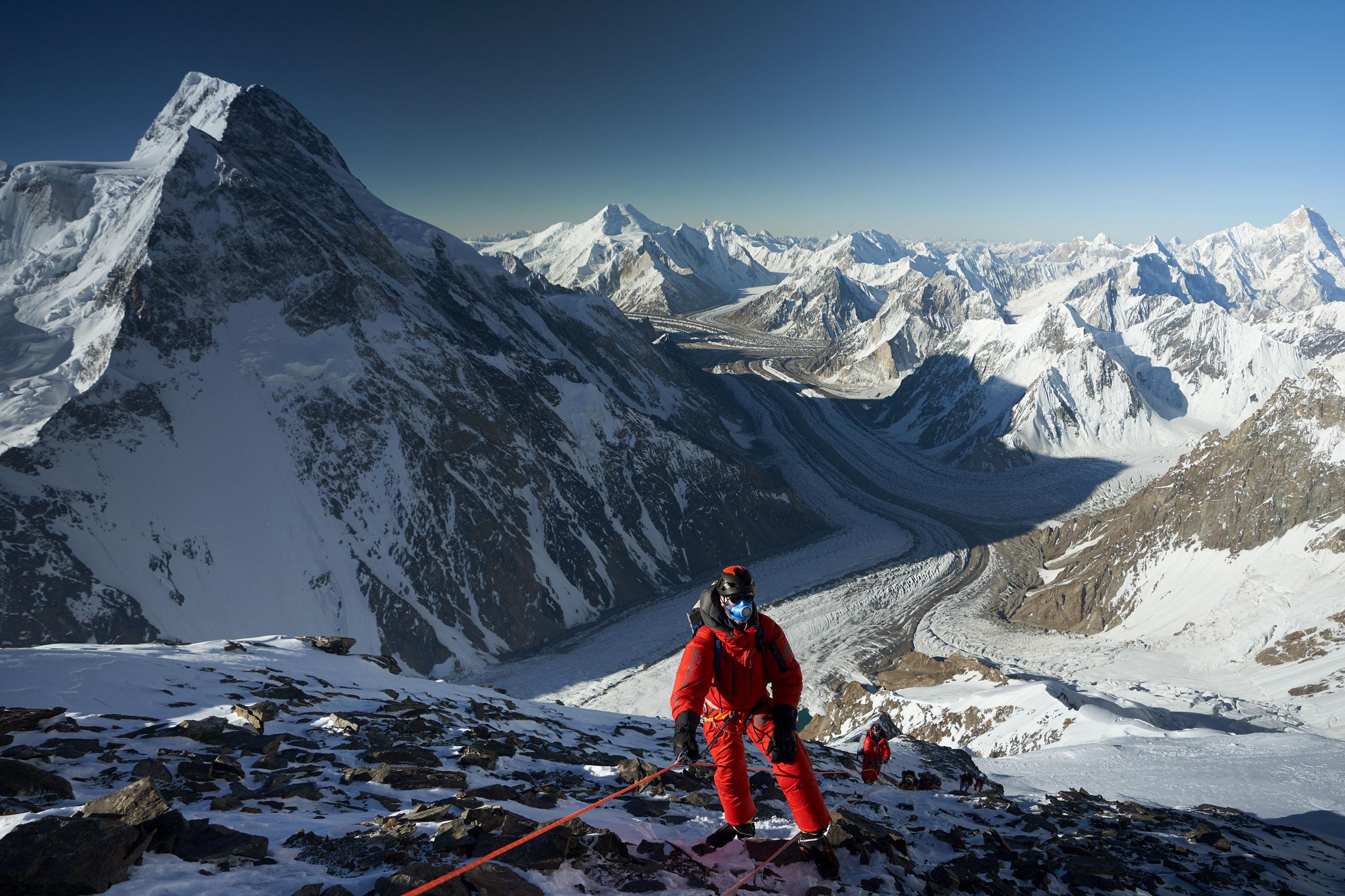 Adrian Ballinger on K2