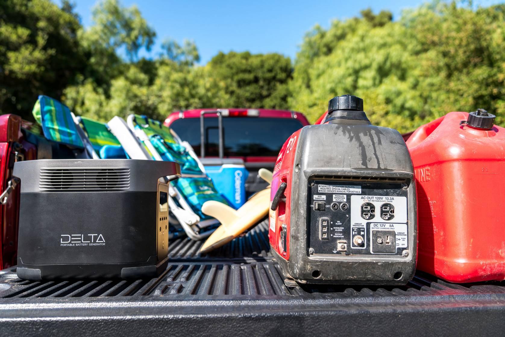 EcoFlow Delta electric generator