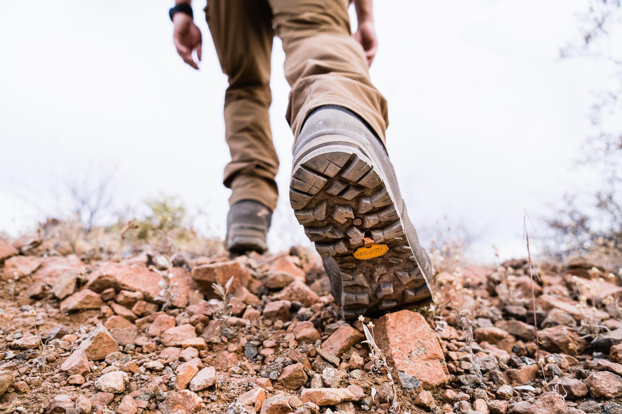 Crispi Colorado hunting boot tread