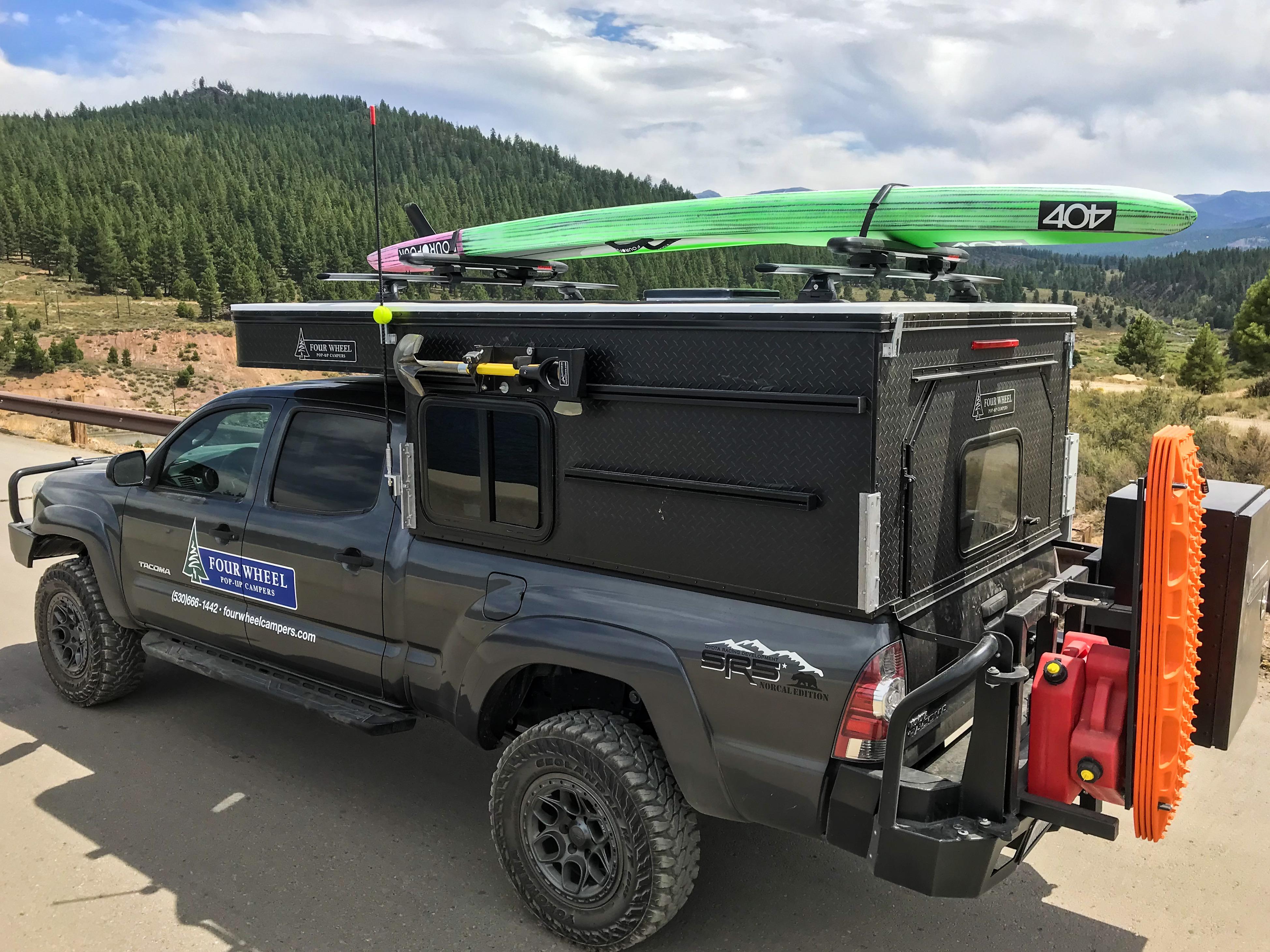 Four Wheel Campers Reveals Lightweight Pop Top Truck Camper