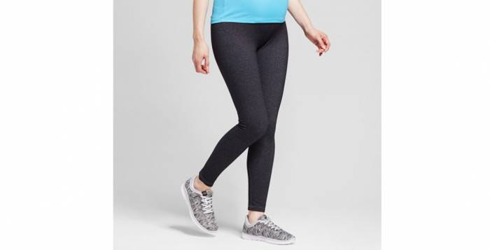 Ingrid and Isabel Maternity Target Leggings