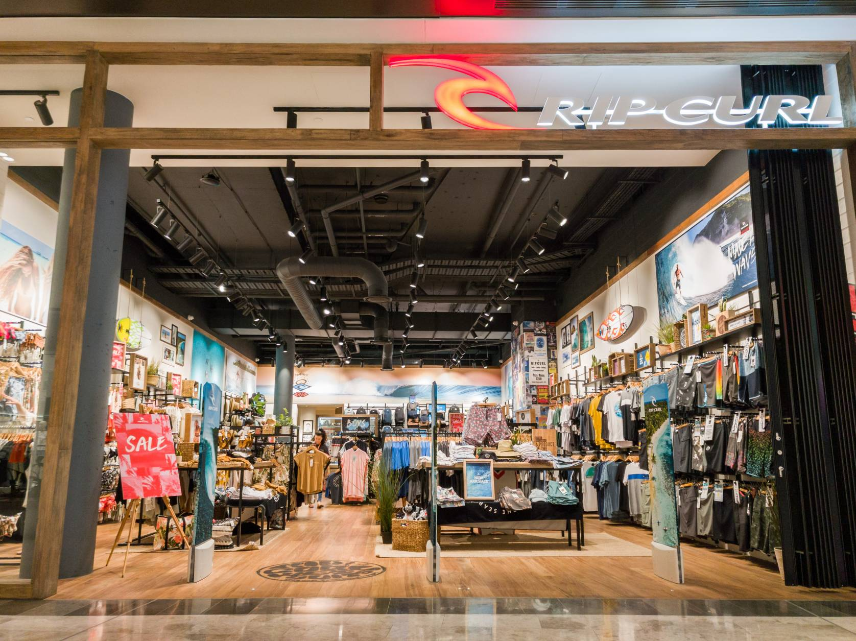Rip Curl storefront