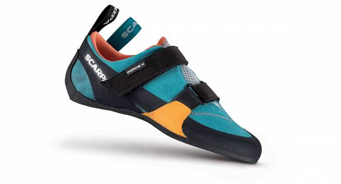 Scarpa Force rock climbing shoe