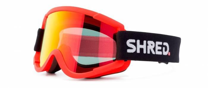SHRED Nastify Mtb Orange Goggles