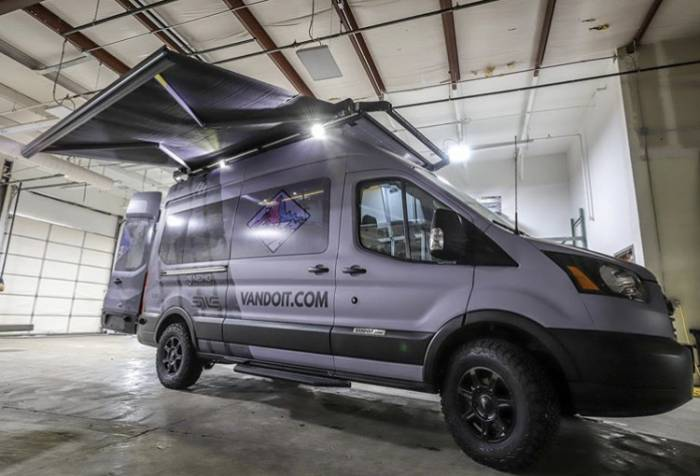 VanDOIt Adventure Van Build