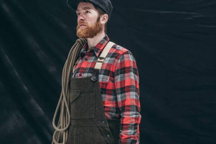 Filson Mackinaw Wool Bibs