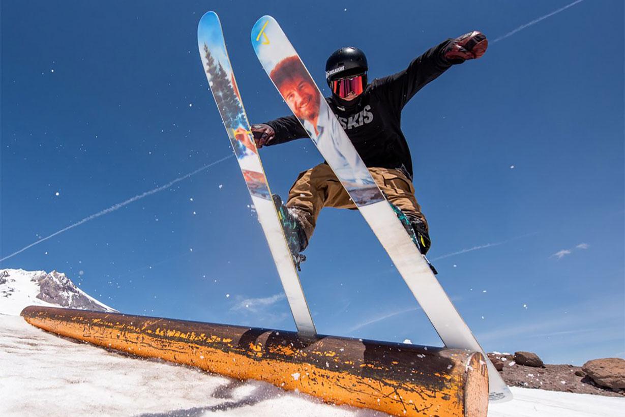 J Skis Bob Ross Skis