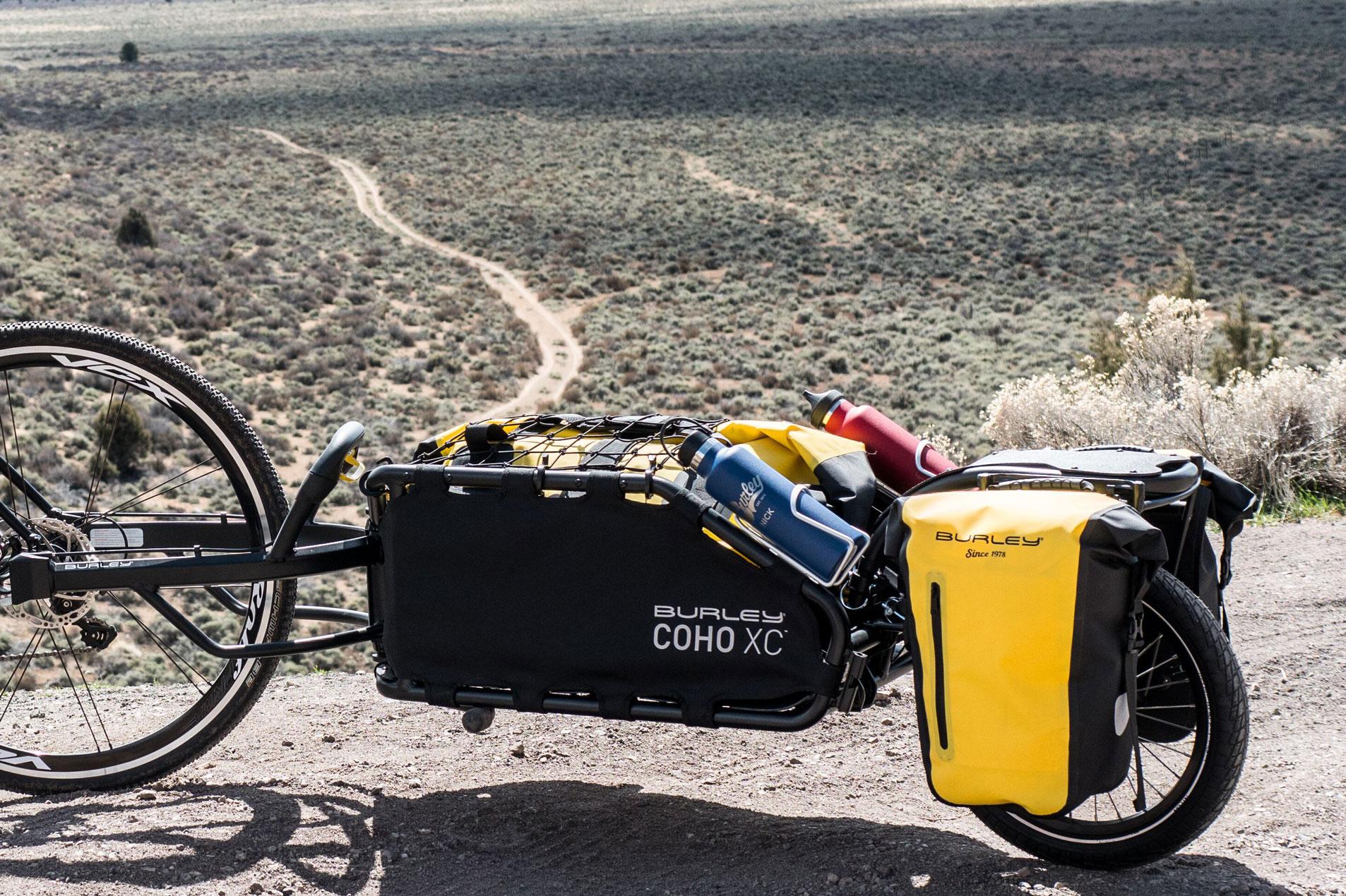 Burley Coho XC bike trailer