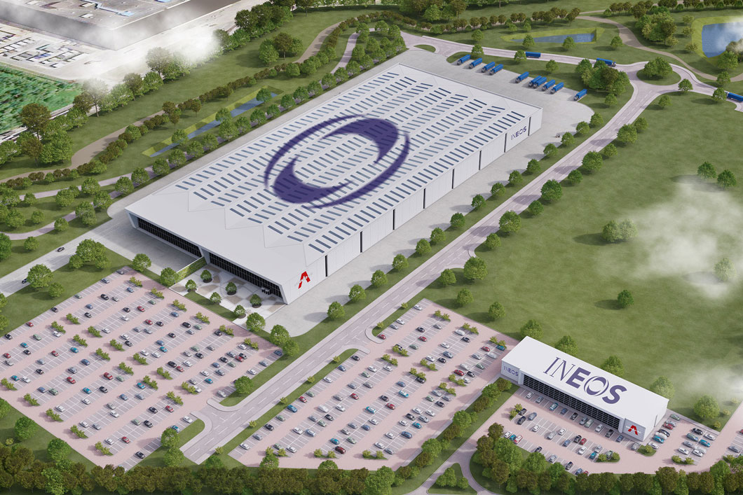 INEOS manufacturing facility concept Wales