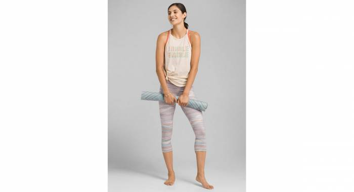 prAna Pillar Printed Capri leggings