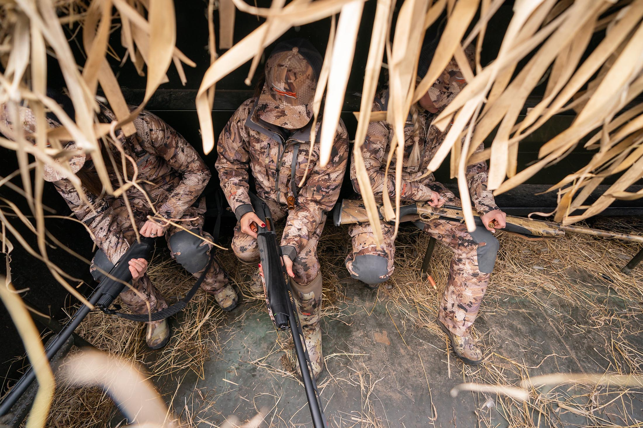Hunters in Sitka Camo