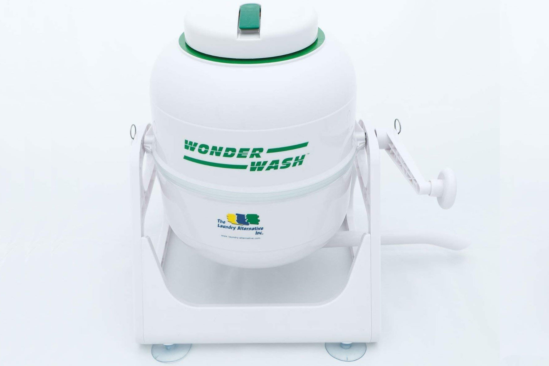 Wonder wash hand crank washer