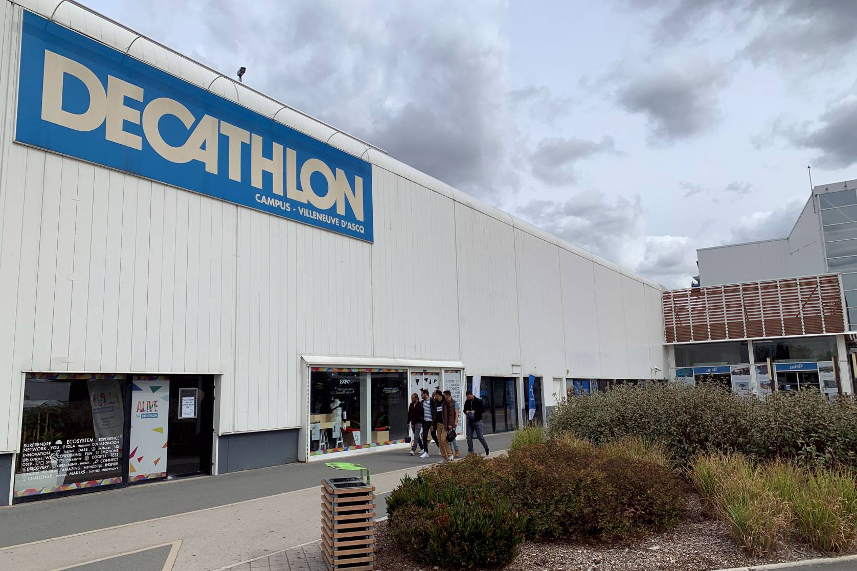 Decathlon sports store