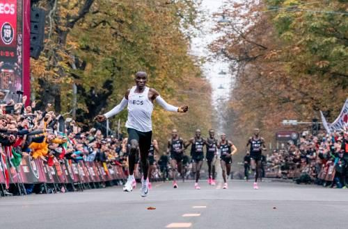 Eliud Kipchoge marathon record