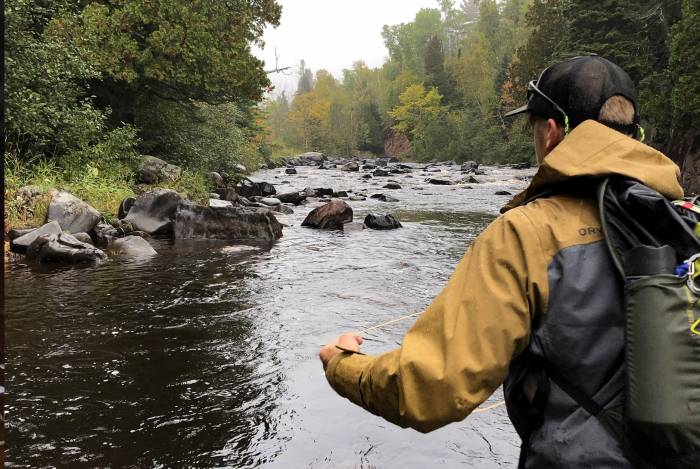 Trip Report: Fly Fishing for Pink Salmon Along MN's North Shore