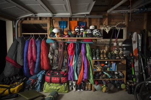 Gear Storage Garage Collage Trip Backcountry Sale