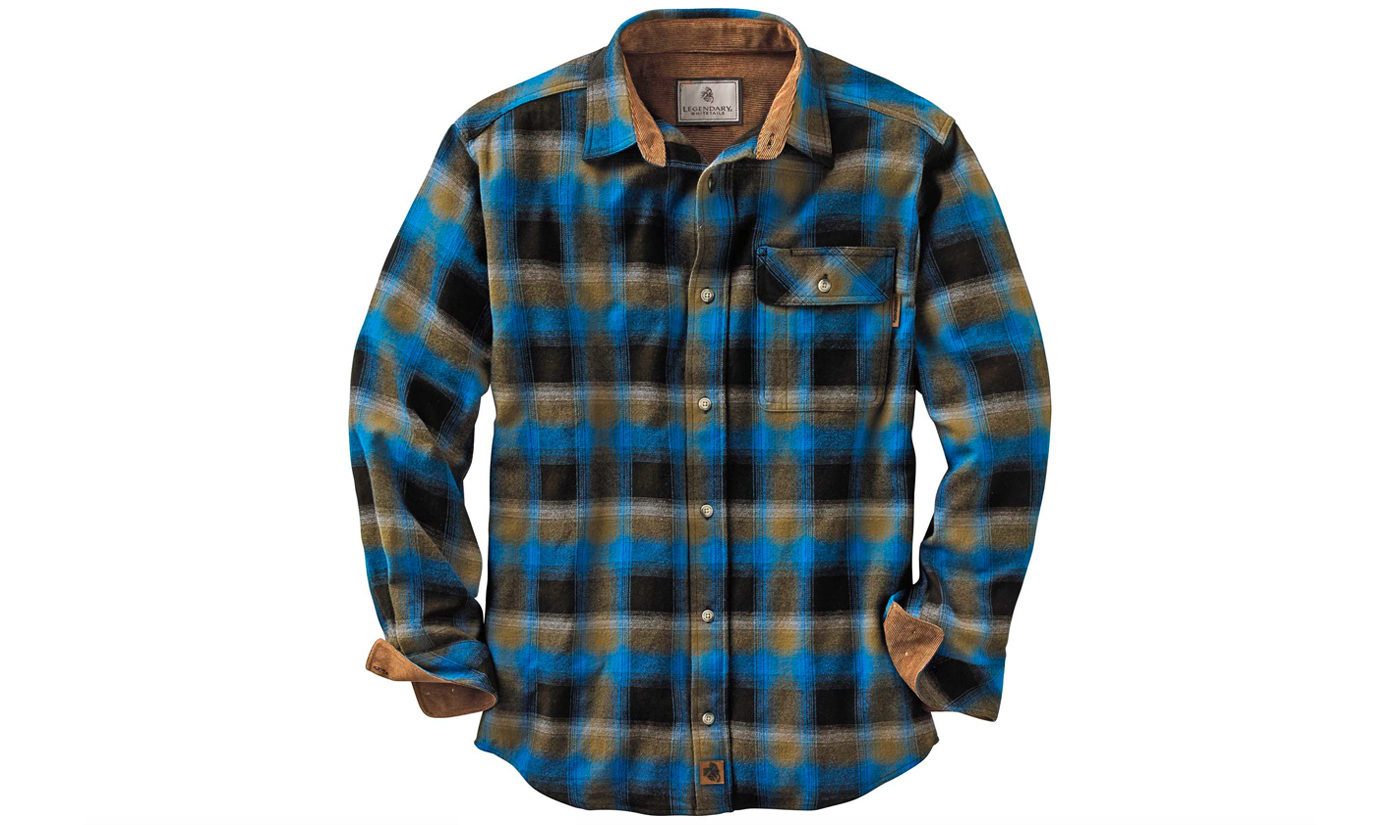 Legendary Whitetails Buck Camp Flannel Shirt