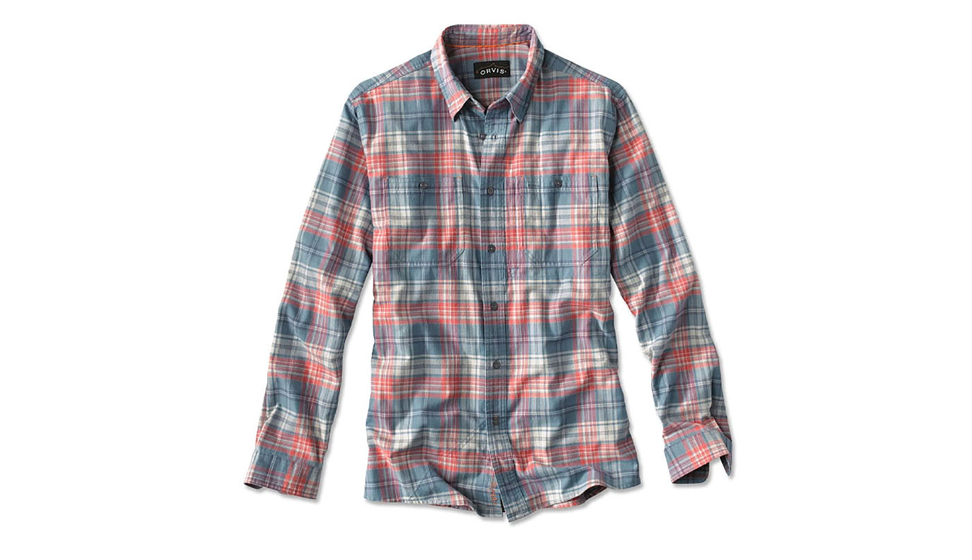 Mountain Designs Womens Pearl Seawool Long-Sleeve Plaid Shirt