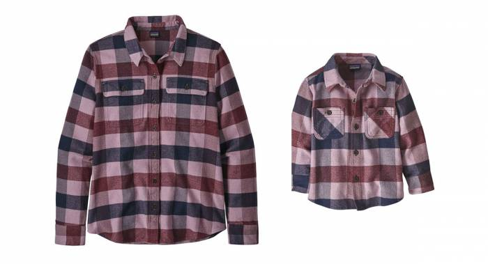 Patagonia Women and Kid Fjord Flannel