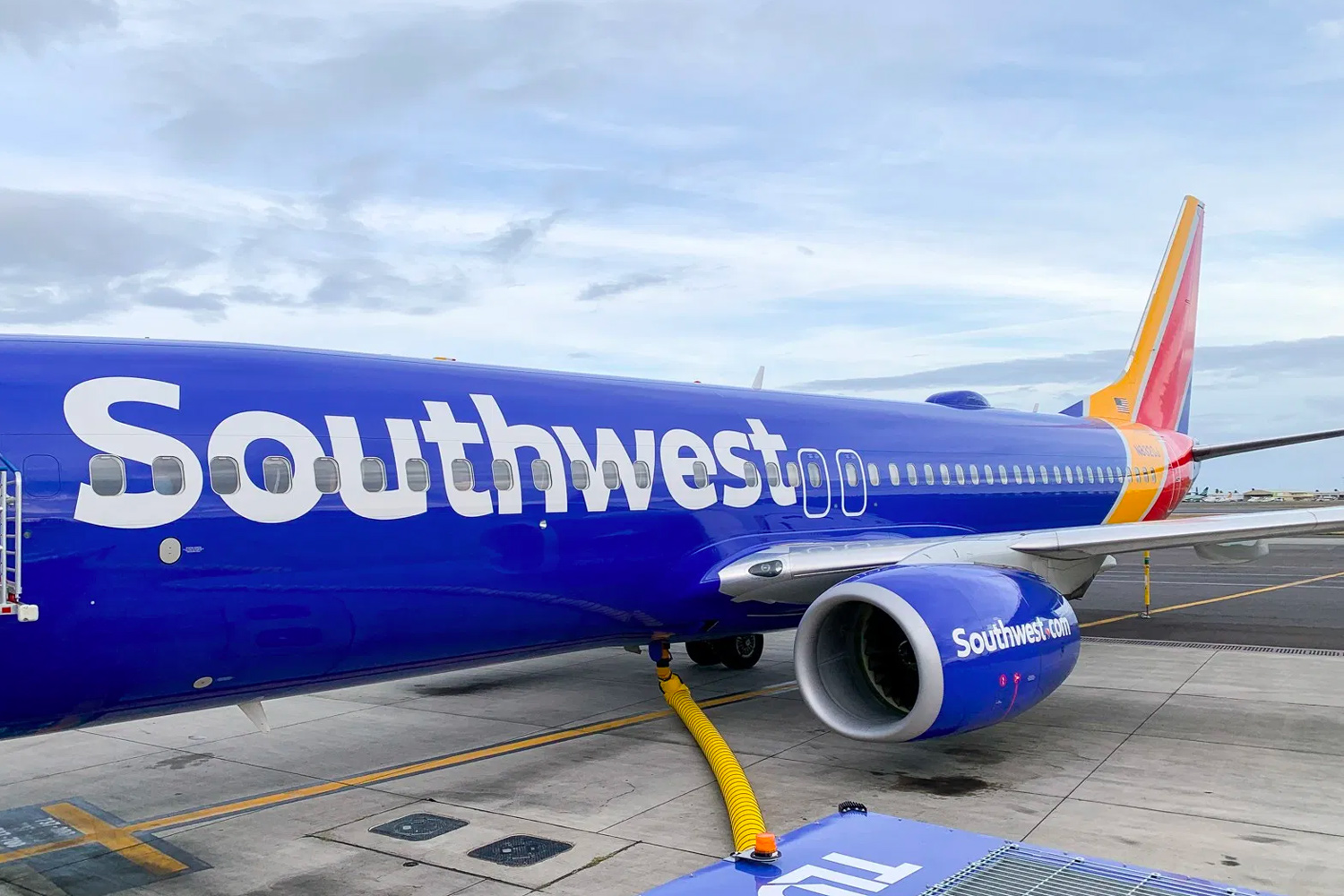 Southwest Airlines Plane Credit Card Companion Pass