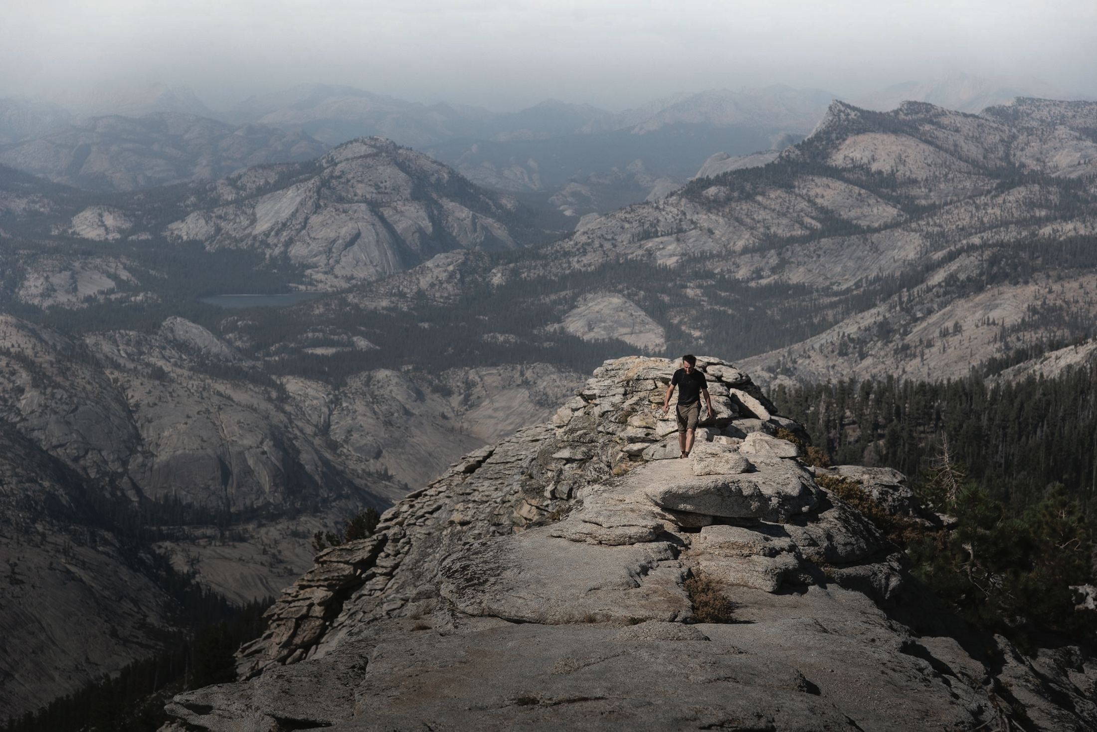 Clouds Rest hike from America's Best Day Hikes Book